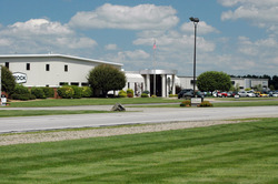 Brock's manufacturing facility and office in Milford, Indiana.